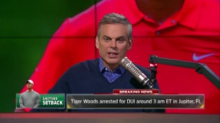 Tiger Woods charged with DUI, arrested in Florida - Colin Cowherd reacts | THE HERD