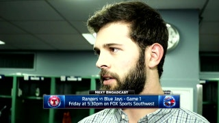 Nick Martinez talks game-plan, loss to Red Sox