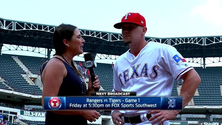 Rua hits 3-run homer in Rangers' win over Phillies