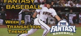 Fantasy Baseball Waiver Wire Trends – Week 5