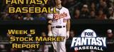 Fantasy Baseball Week 5 Stock Market Report
