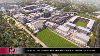 Will SDSU football look for a new location for its new field?