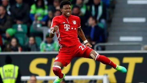 Left back: David Alaba (Bayern Munich)