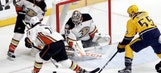 Ducks set franchise record with two shots allowed in first period of Game 4