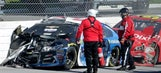 Drivers react to mayhem caused by the Big One at Talladega