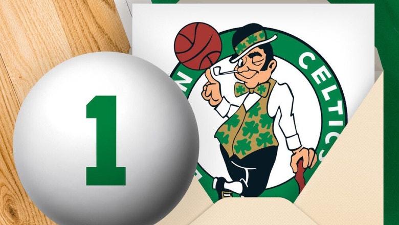Celtics win NBA draft lottery, Mavericks stay at No. 9