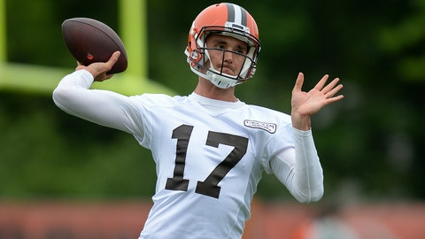 Bunker mentality: Osweiler wants to be Browns' starting QB