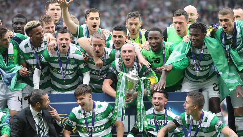 Video: Celtic scores 92nd-minute winner to complete undefeated treble season