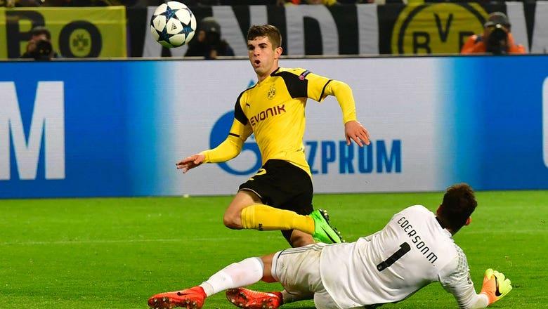 13. Christian Pulisic, Borussia Dortmund
