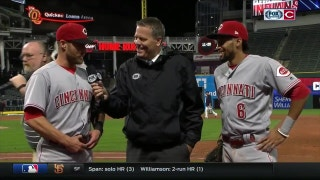 Cozart describes game-winning play;Hamilton's game-changing speed
