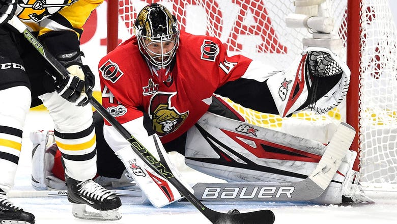 Anderson comes up big as Senators down Penguins to force Game 7