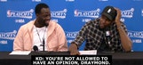 KD, Draymond joke about chemistry issues, take shots at NBA on TNT crew