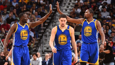 Warriors will win in five or six