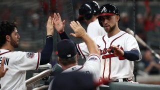 Watch Braves' Ender Inciarte collect a career-high five hits against the Buccos