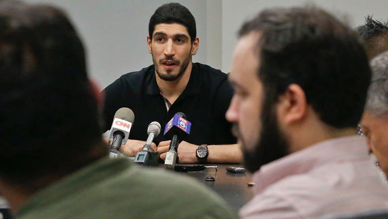 Enes Kanter wants to become U.S. citizen after detainment in Romania