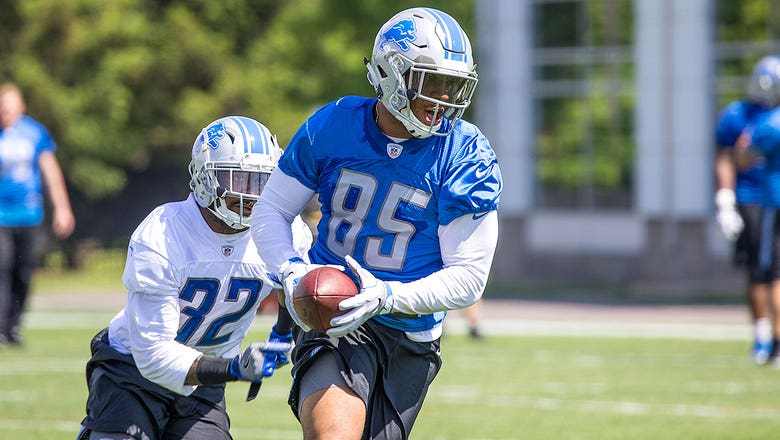 NFL OTAs news, updates: Lions TEs Eric Ebron, Michael Roberts learning to exist in tandem