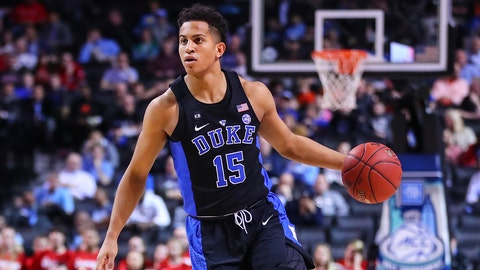 Winner… sort of: Frank Jackson, G, Duke