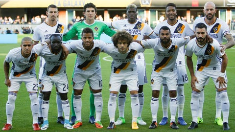 The LA Galaxy look like the club of old