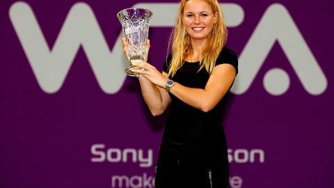 Reaching No. 1 in tennis