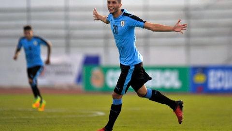 Italy-Uruguay (Sunday, May 21st, 7:00a ET: FS1)