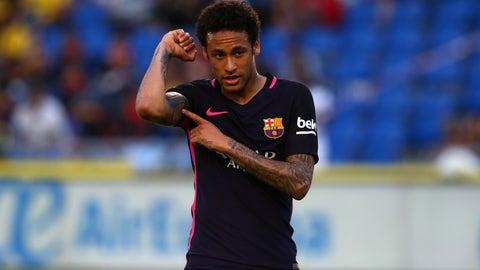 Neymar had his best year yet