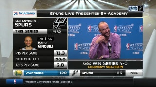 Manu Ginobili: I did not just retire in Spanish
