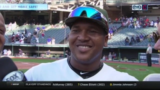 Jose Ramirez sends Mother's Day wishes to mom in Dominican Republic