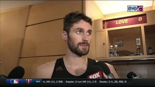 Kevin Love credits Celtics' fight, looks forward to film session