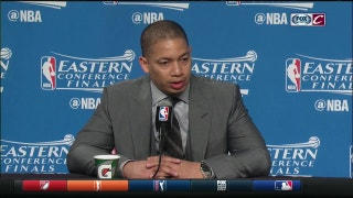 Tyronn Lue reminds everyone that LeBron is human