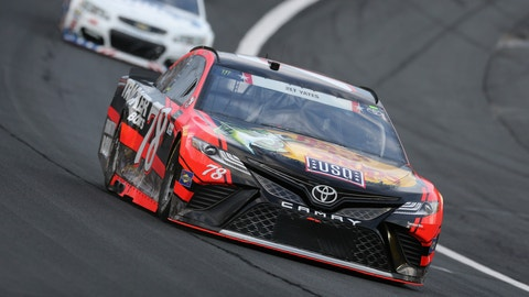 Austin Dillon's fuel gamble yields first win