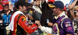 Martin Truex Jr. on first Talladega win: 'No way I would have won' without Dale Jr.