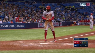 HIGHLIGHTS: Maybin blasts homer off the catwalk in Tampa Bay
