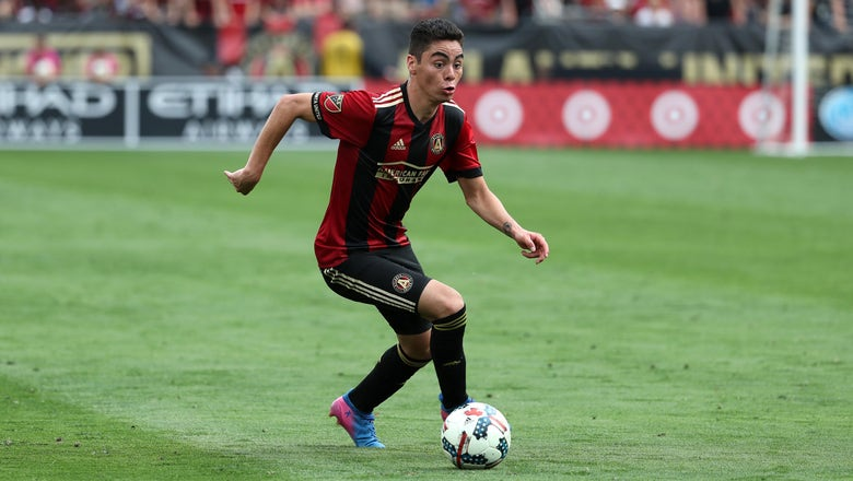 Watch Miguel Almiron score his first career hat trick for Atlanta United