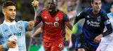 Who are the best American strikers in MLS?