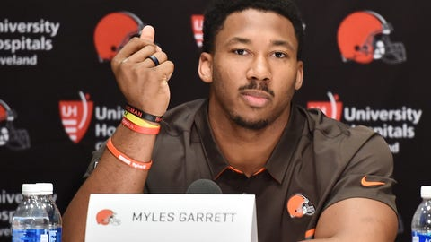 Browns drafting Myles Garrett