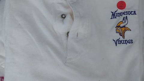 White Vikings polo shirt