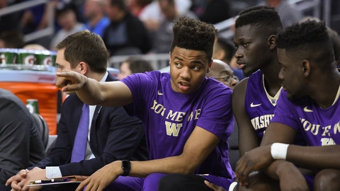 Boston Celtics: Markelle Fultz, PG, Washington (Freshman)