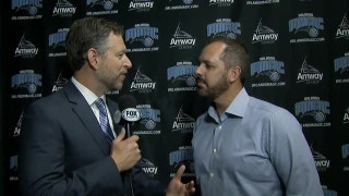 Frank Vogel on the changes to the Orlando Magic front office