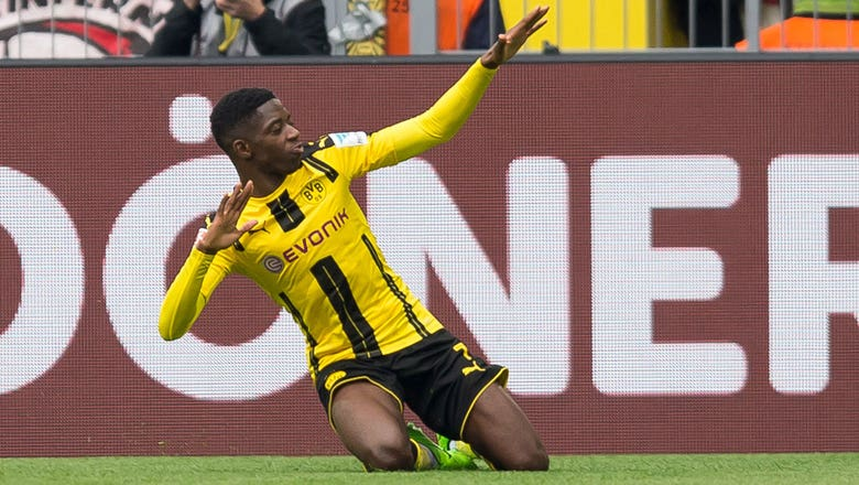 3. Ousmane Dembele, Borussia Dortmund