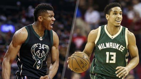 Bucks' Antetokounmpo, Brogdon named finalists for National Basketball Association awards