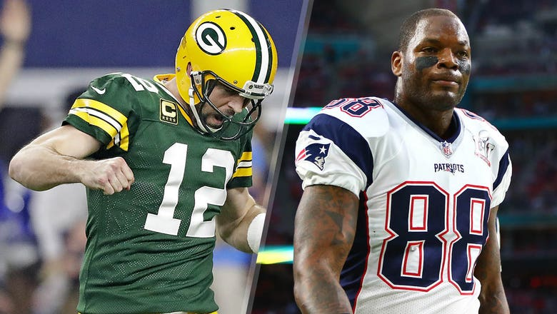 Martellus Bennett explains the funny way he's trying to cozy up to Aaron Rodgers