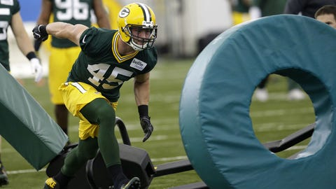 Vince Biegel can rock the green and gold