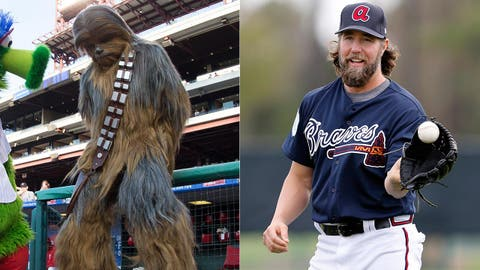 Chewbacca (as played by R.A. Dickey)