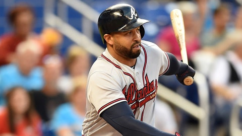 1. Age ain't nothing but a number ... just ask these Braves hitters