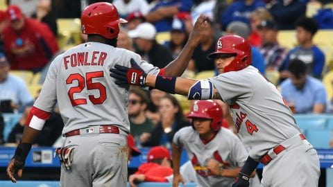 Leake leads Cardinals to 6-1 win over Dodgers