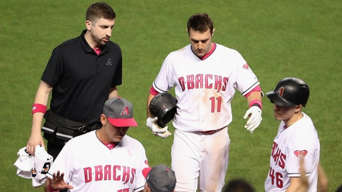 Diamondbacks C Iannetta placed on concussion DL