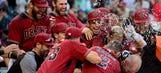 D-backs walk-off Mets, complete sweep on Herrmann's home run
