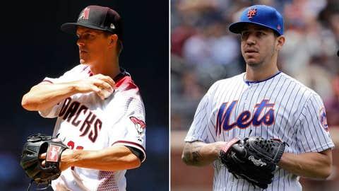 Today's starting pitchers: RHP Zack Greinke vs. LHP Tom Milone