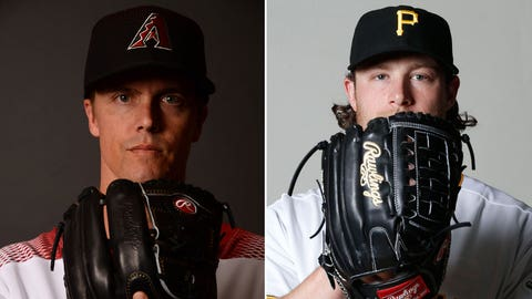 Today's starting pitchers: RHP Zack Greinke vs. RHP Gerrit Cole