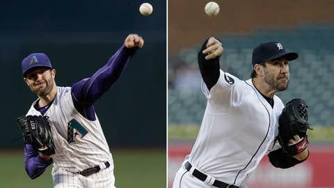 Today's starting pitchers: LHP Robbie Ray vs. RHP Justin Verlander